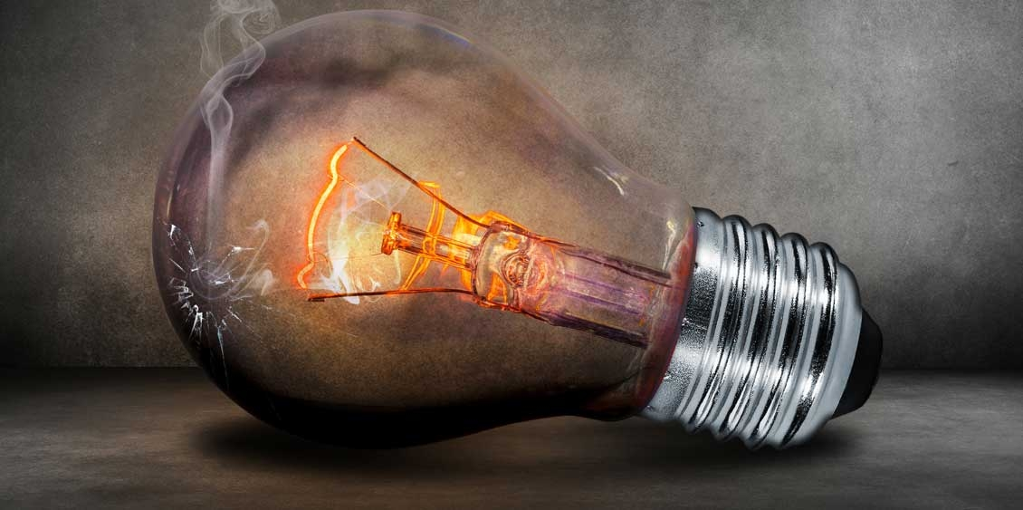 Light Bulb Produces Light Glow Effectively